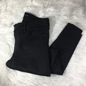 Mott and Bow Skinny Black Jeans Mid Rise